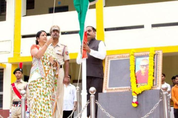Kesharbai Sonajirao Kshirsagar Alias kaku College of Arts Science and Commerce-Independence Day
