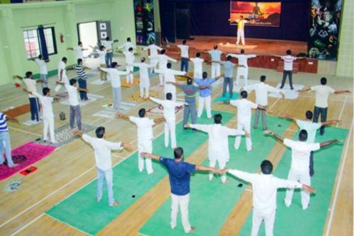 Kesharbai Sonajirao Kshirsagar Alias kaku College of Arts Science and Commerce-Yoga Day
