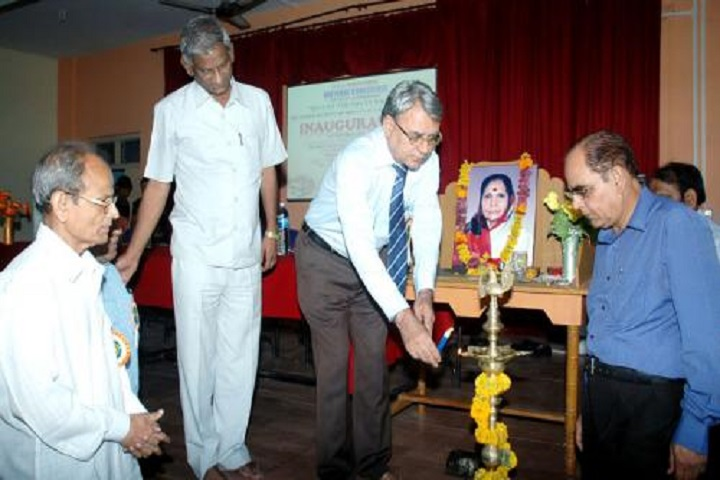 Vasantdada Patil Arts, Commerce and  Science College-Lighting The Lamp