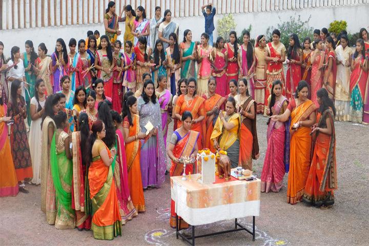 Dnyanbhakti Junior College-Festival Celebratib