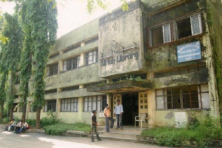 Bhiwandi Nizampur Nagarpalika College-Library Outer View
