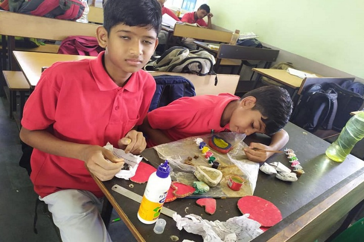 Sarvodaya Public School-Art and Craft work