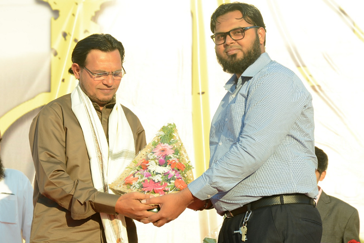 Dr Asadullah Khan English High School and Junior College-Greeting