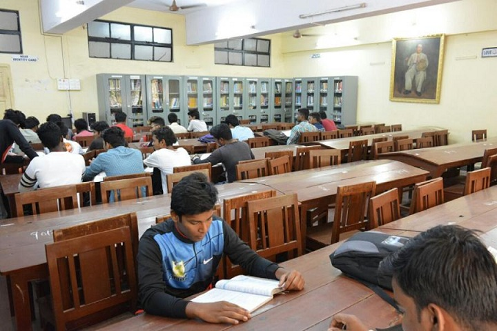 Dr Ambedkar College of Commerce and Economics-Library Reading Room