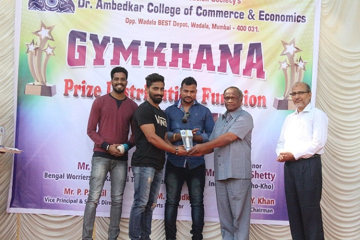 Dr Ambedkar College of Commerce and Economics-Prize