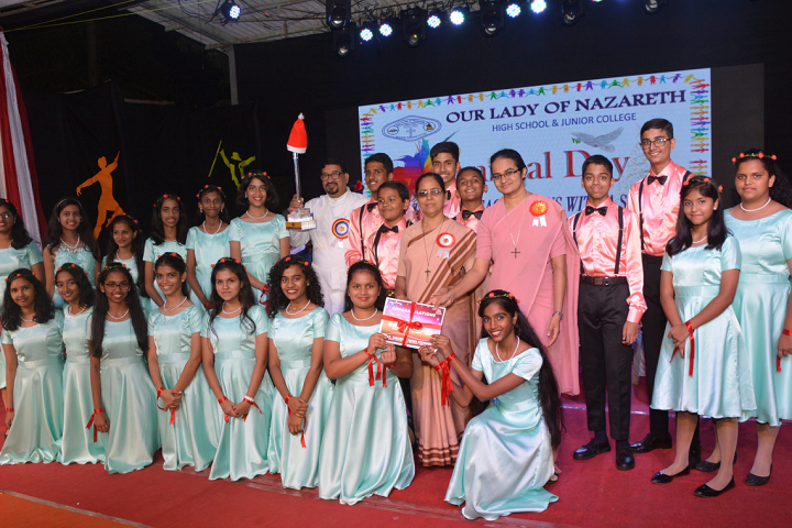 Our Lady Of Nazareth High School and Junior College-Annual Day