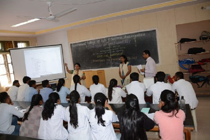 Government College of Arts and Science-Classroom