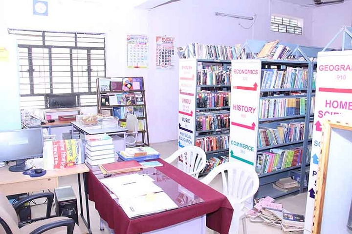 Navgan Shikshan Sanstha Rajuris Arts and Commerce College-Library