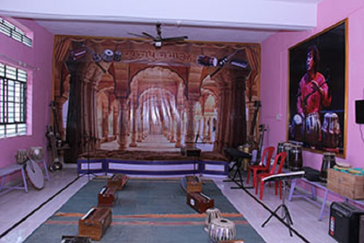 Navgan Shikshan Sanstha Rajuris Arts and Commerce College-Music Room