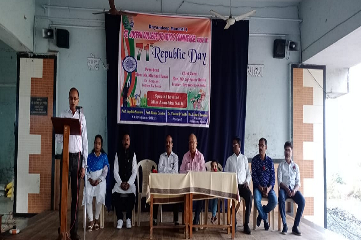 St Joseph College of Arts and Commerce-Republic Day