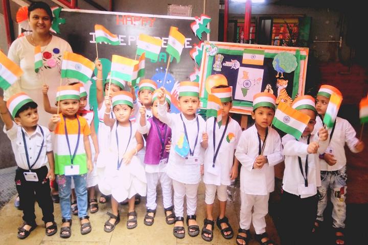 Bharat English High School and Junior College-Independance Day