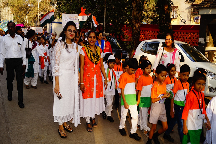 Bharat English High School and Junior College-Rally