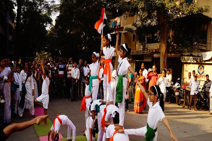 Bharat English High School and Junior College-Republic Day