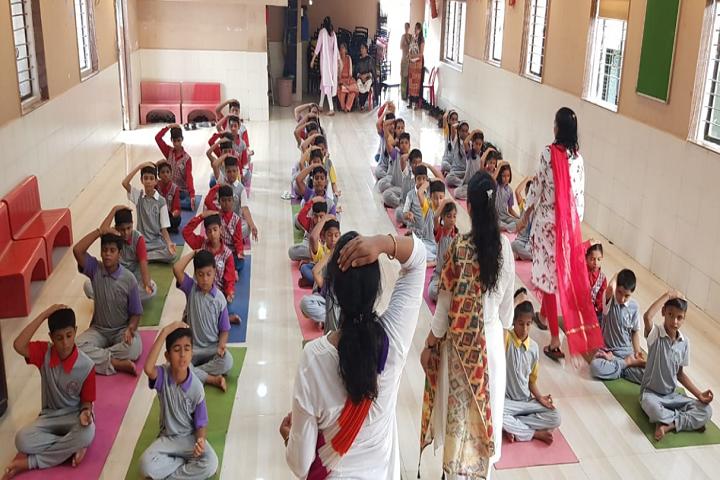 Bharat English High School and Junior College-Yoga