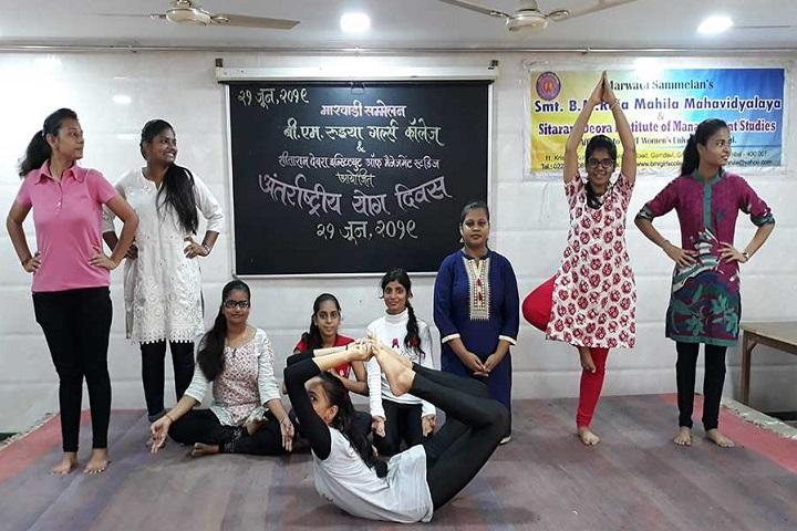 B M Ruia Girls College-Yoga Day