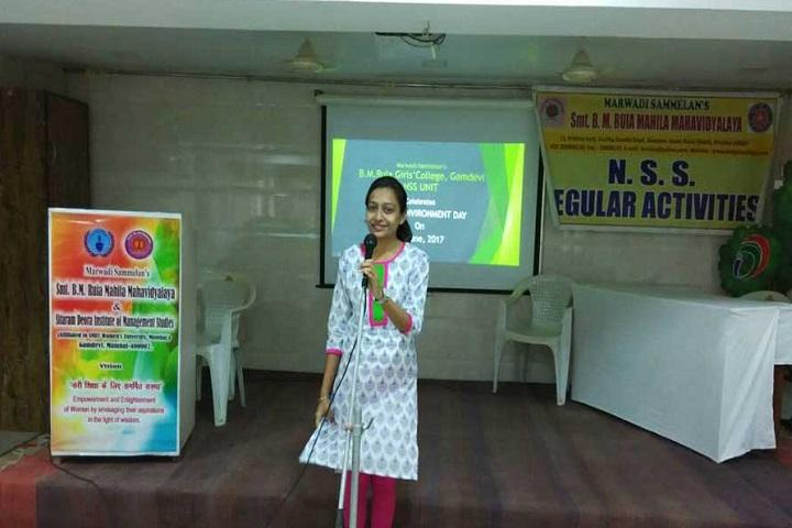 B M Ruia Girls College-Environment Day