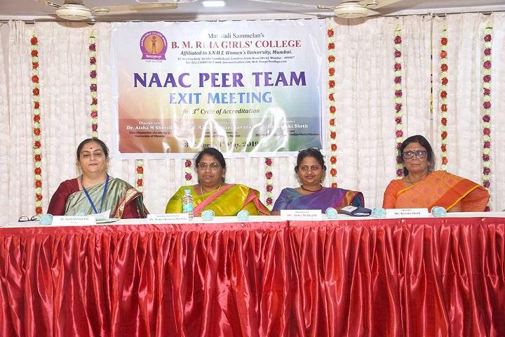 B M Ruia Girls College-NAAC Visit