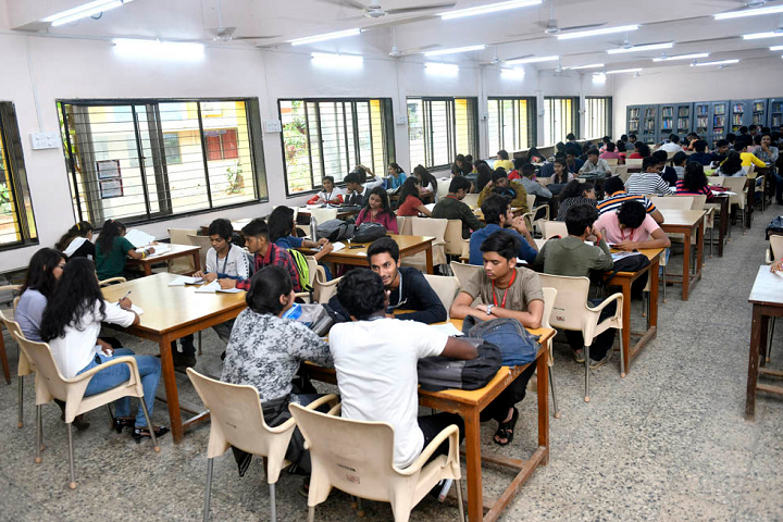 L S Raheja College Of Arts and Commerce-Library Reading Room