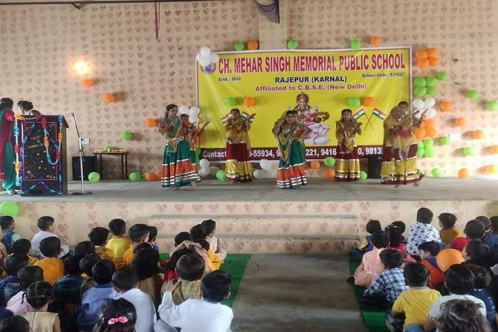 H Mehar Singh Memorial Public School-Annual Day