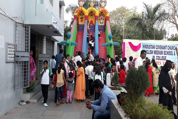 Hindustani Covenant Church High School and Junior College-Exhibition