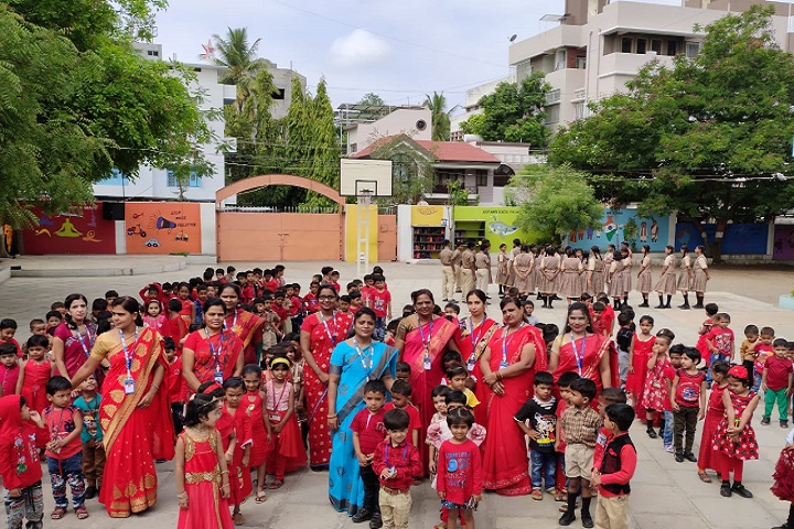 Hindustani Covenant Church High School and Junior College-Red Day