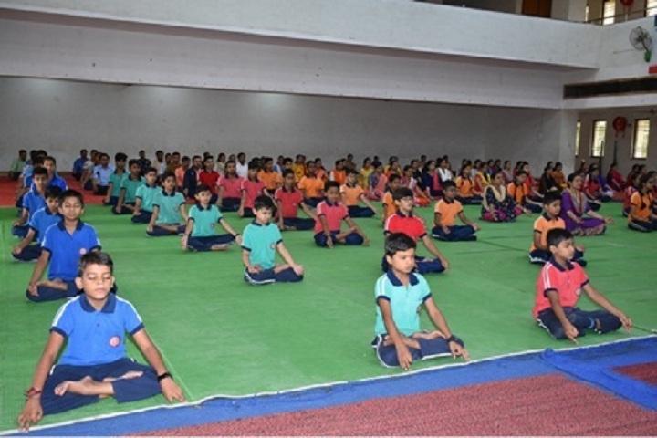 Shri Gujrati English Medium Higher Secondary School-Yoga