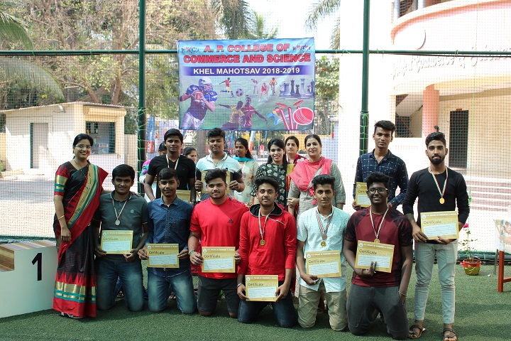 Abid Patel College of Commerce and Arts-Prize Distribution