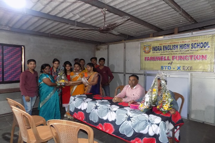 Indra English High School And Junior College-Farewell Day