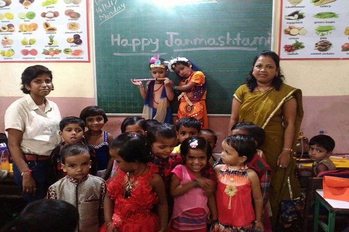 Indra English High School And Junior College-Janmashtami Celebrations