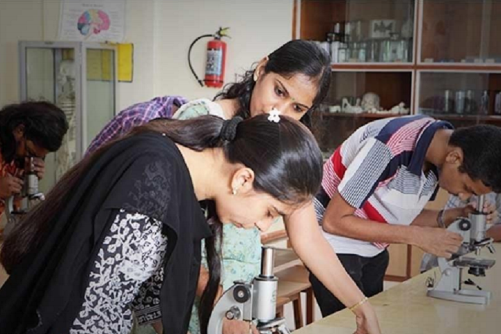Chandrabhan Sharma Junior College of Science and Commerce-Biology Lab