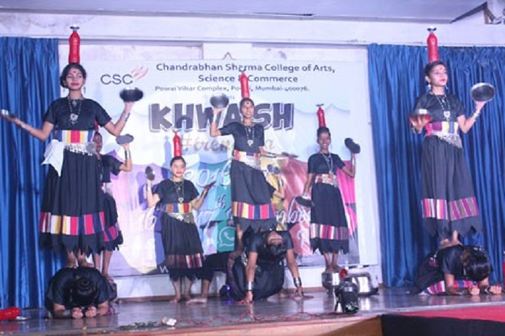 Chandrabhan Sharma Junior College of Science and Commerce-Group Dance