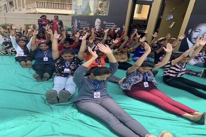 Mount Carmel High School and Junior College-Yoga Day