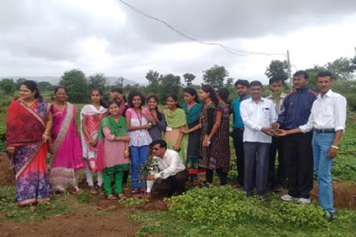 Shahaji Raje Mahavidyalaya-Tree Plantation