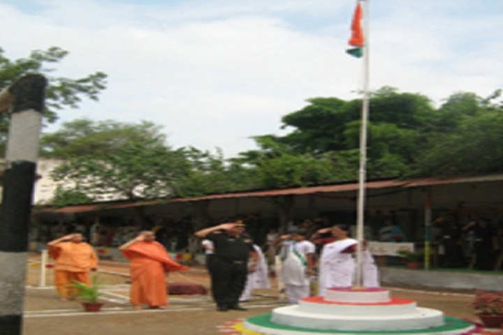 Ramakrishna Sarada Mission Uchha Madhyamik Vidyalaya-Flag Hosting