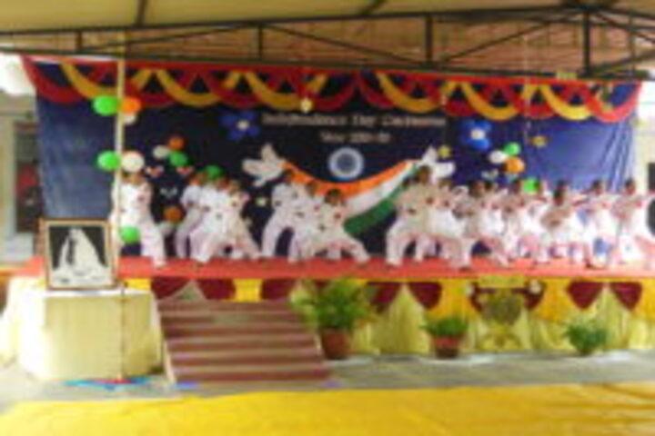 Ramakrishna Sarada Mission Uchha Madhyamik Vidyalaya-Independence Day1