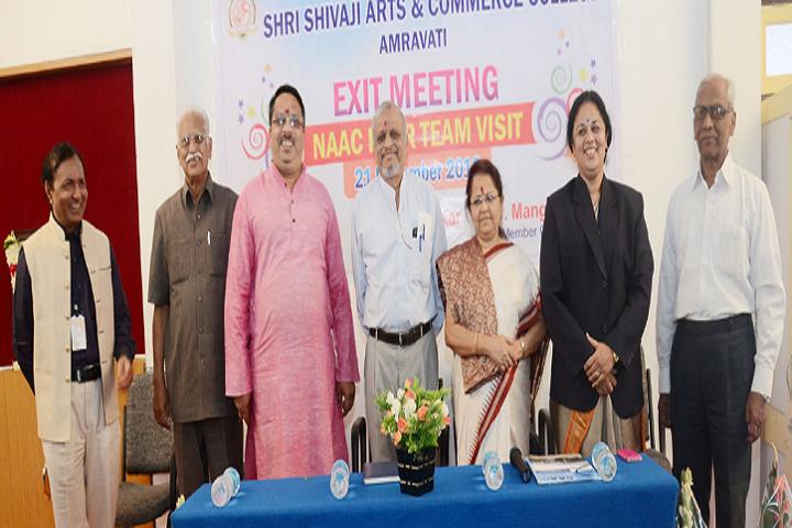 Shri Shivaji Arts and Commerce College-Exit Meeting