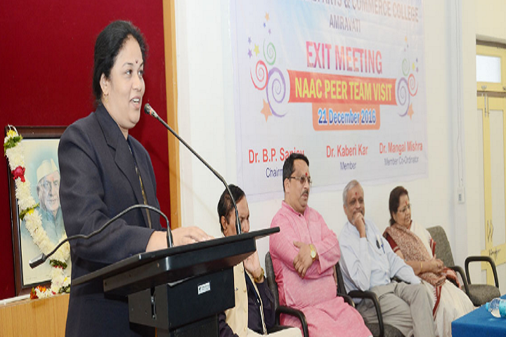 Shri Shivaji Arts and Commerce College-Seminar