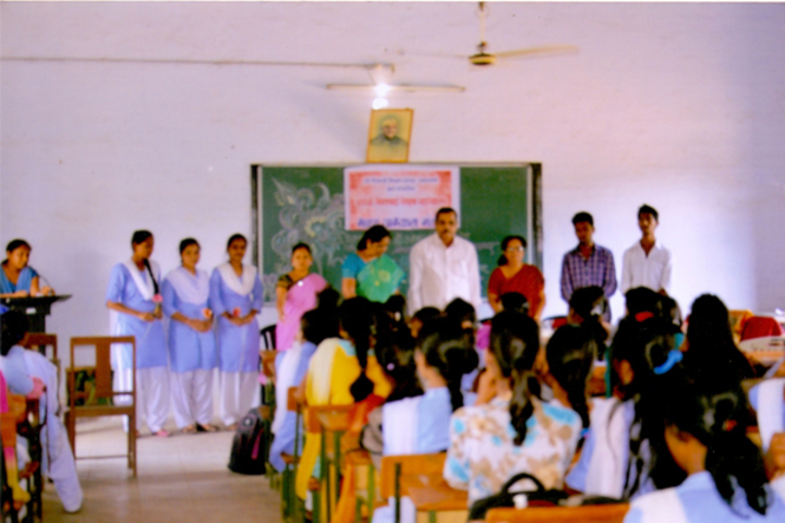 Matoshree Vimalabai Deshmukh Junior College-Classroom