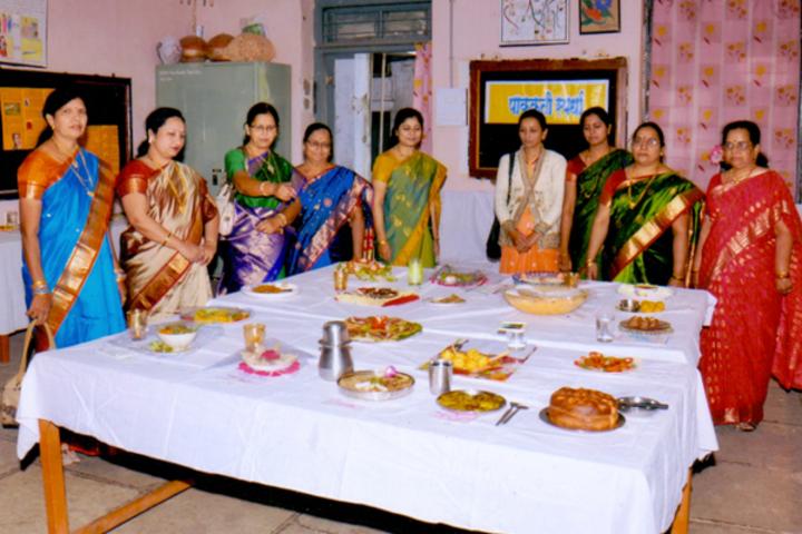 Matoshree Vimalabai Deshmukh Junior College-Food Competition