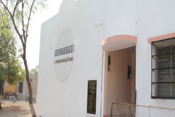 J D Patil Sangludkar Mahavidyalaya-Seminar Hall