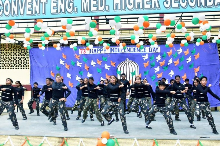 St. Teresa's Convent English Medium Higher Secondary School - Independence day