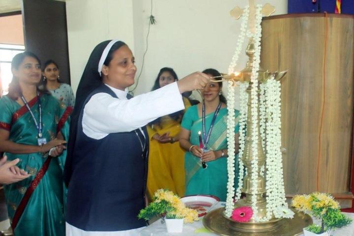 St. Teresa's Convent English Medium Higher Secondary School - Junior College Ceremony