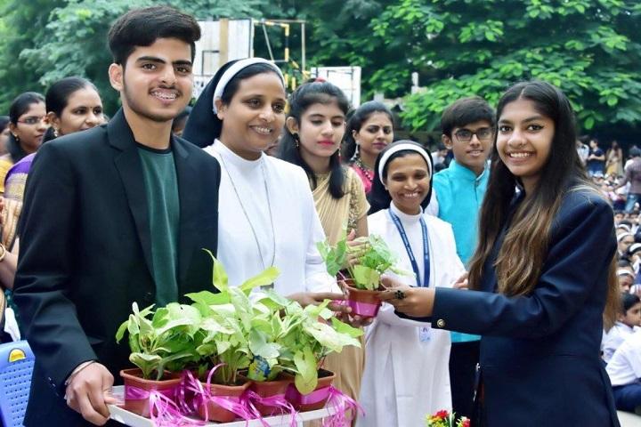St. Teresa's Convent English Medium Higher Secondary School - Teachers day