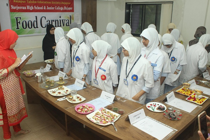 Navjeevan High School and Junior College-Food Festival