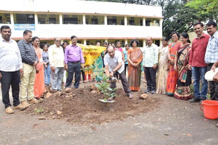 Kamala College-Tree Plantation
