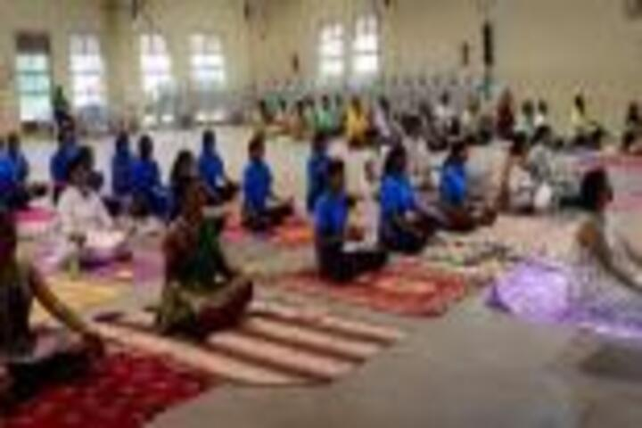 Kamala College-Yoga Day