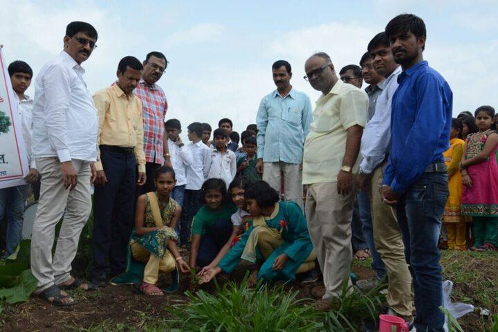 Global English Medium School and Junior College-Tree Plantation
