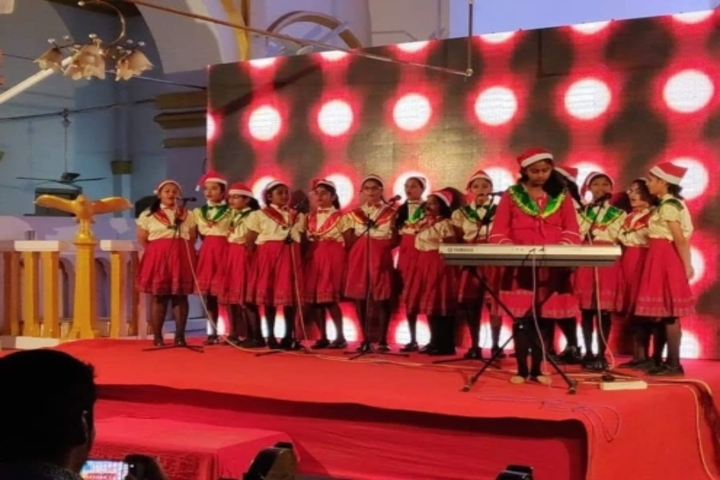 St Josephs Convent Junior College-Carol Singing Competitions