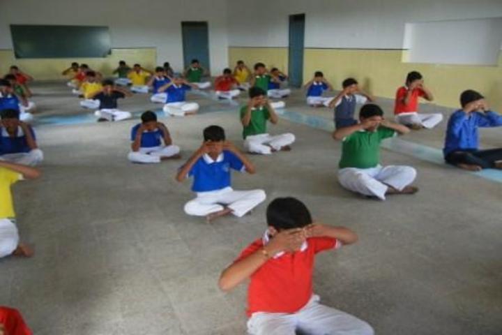 St. Francis School-Yoga Activity