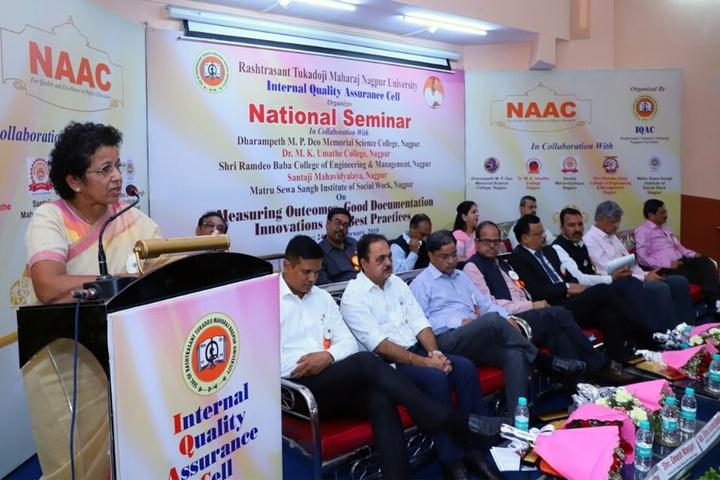 Dharampeth M P Deo Smruti Science Junior College-National Seminar